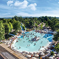 campsite Altomincio Family Park in region Lake Garda, Italy
