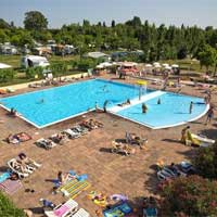 campsite Eurocamping Pacengo in region Lake Garda, Italy