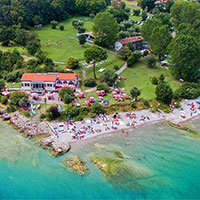 campsite Sivinos Boutique in region Lake Garda, Italy